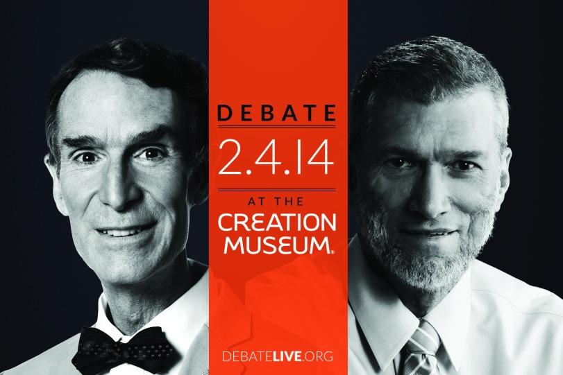 debate promo postcard